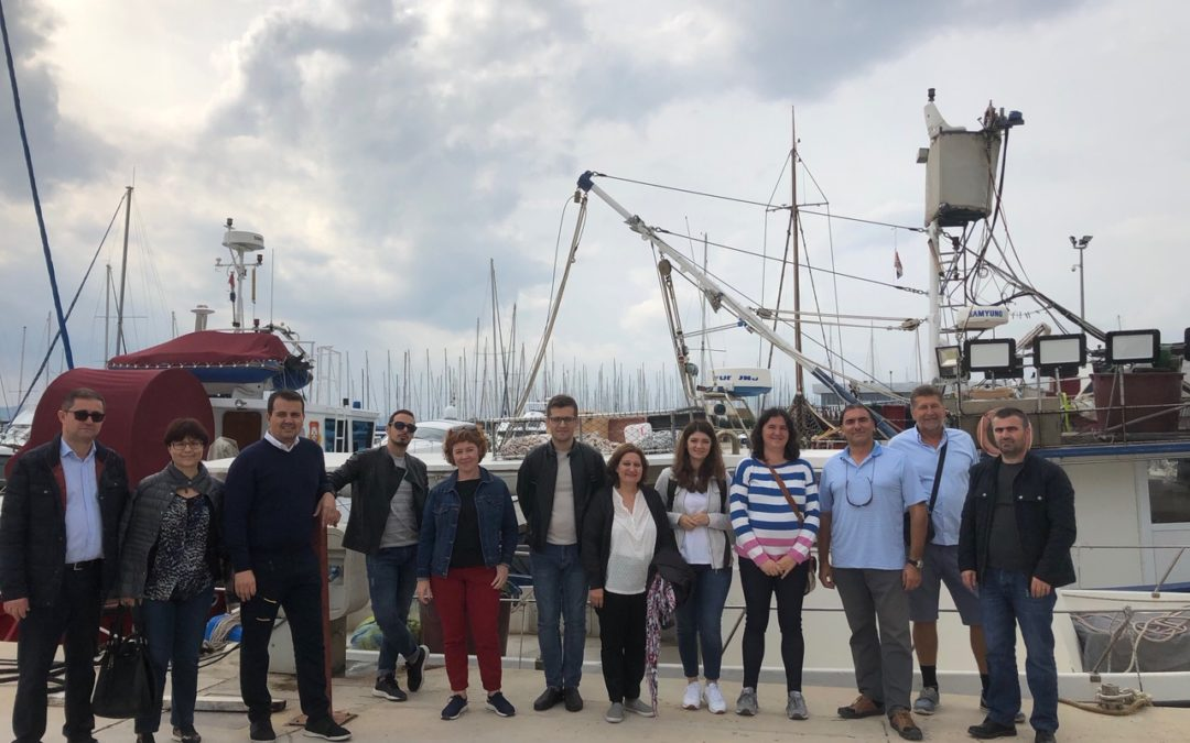 ALMARS project study visit in Split, Croatia