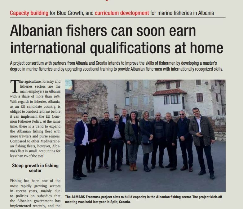 Albanian fishers will earn international qualifications at home